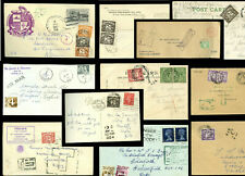 GB POSTAGE DUES COVERS YORKSHIRE etc.. PRICED INDIVIDUALLY