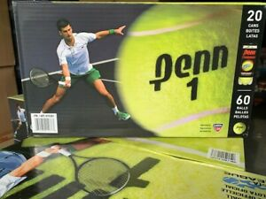 Penn Championship Extra Duty Tennis Balls - 60 Count Brand New, US Seller