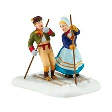 Dept 56 Alpine 2016 Love On The Slopes #4050905 Nib Free Shipping 48 States