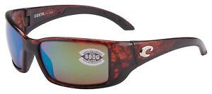 Costa Del Mar Blackfin Sunglasse BL-10-OGMGLP Tortoise | Green Mirror 580G