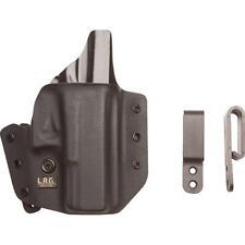 L.A.G. Tactical Defender IWB/OWB Kydex Holster for Sig Sauer P938, Black
