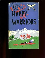THE HAPPY WARRIORS ( Gurkhas in Malaya 1948-58) Bredin, 1st UK, HBdj VG