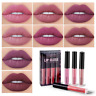4Pcs/Set Waterproof Long Lasting Matte Liquid Lipstick Lip Gloss Cosmetic Makeup