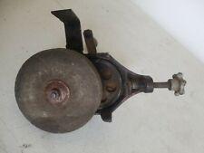 """Antique Hand Crank Bench Mount Grinder Vintage Knife Tool Sharpener 4.5"""" Wheel"""