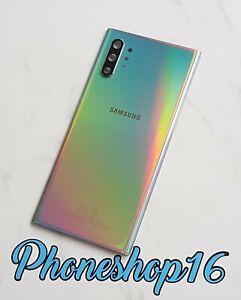 Original Samsung Galaxy Note 10+ Plus SM-N975F Akkudeckel Backcover Aura Glow B