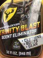 new 32 oz. Scentblocker Trinity Blast Scent Eliminator Spray Boots Deer Hunting