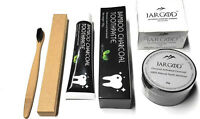 Charcoal Teeth Whitening Powder +Toothpaste +Toothbrush 3in1-JARGOD USA
