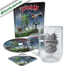 TANKARD One foot in the grave autographed mail order set limited to 300