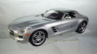 Large Original Mercedes SLS Amg RC Car 27 Mhz Radio Controlled Sports Car