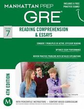 GRE Reading Comprehension & Essays [Manhattan Prep GRE Strategy Guides]