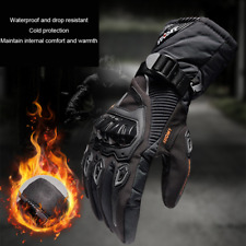 Winter Motorcycle Gloves Waterproof Touch Screen Glove Warm Skiing Long Gloves