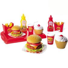 Spielzeug Hamburger Pommes Kinderküche Zubehör Kaufmannsladen Kaufladenzubehör