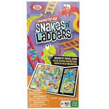Ideal Magnetic Go Snakes n' Ladders Game For Ages 5+ Kids, 8-32510TL New
