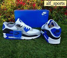 BNWB & Genuine Nike ® Air Max 90 Recraft Hyper Royal Trainers UK Size 8 EU 42.5