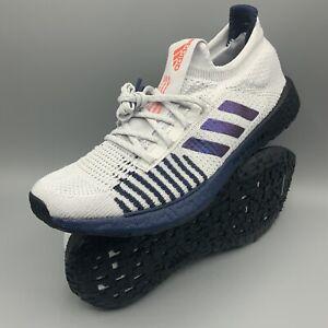 Adidas PulseBOOST HD - Dash Grey/Boost Blue Violet - Running EG0978 Men's Sz 9.5