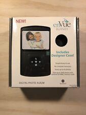 """EnVue Burnes digital photo album Designer case Included NEW 3.5"""" LCD screen  4/2"""