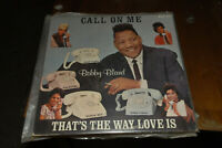 Bobby Bland 2 lp lot Call on Me Duke 1st Members Only Blues vocals discs