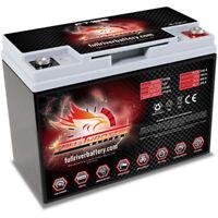 Full Throttle FT185 AGM Power Cell Car Audio Battery Full River FT 185