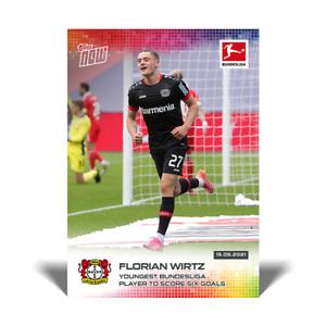 Florian Wirtz - 2021 Bundesliga Topps Now - Card #191 - Pre-Sale No Cancel
