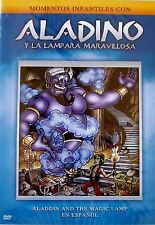 Aladino Y La Lampara Maravillosa (DVD, 2005, Spanish)