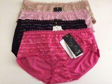 4xfashion Womens Ladies Lace Underwear panties briefs Knickers lingerie 6-8