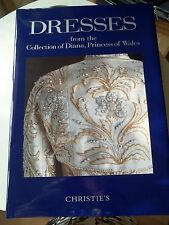 Diana Princess Of Wales DRESSES. Christie's Sale Catalogue.