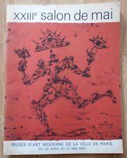 LIVRE D'ART / CATALOGUE EXPOSITION SALON DE MAI 1967 COUTAUD