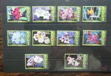 Bahamas 2006 Flowers of Bahamas values to $10 LMM
