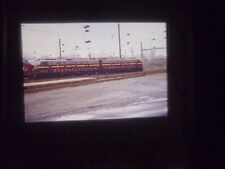 Original Slide Train RR pa Harrisburg SPL PRR 5711 yard depot 5809 passenger car