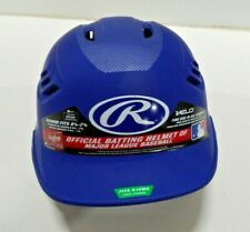 Rawlings Senior Carbon Fiber Batter Helmet, Matte Royal Blue Fits 6 7/8 to 7 5/8