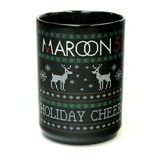 Maroon 5 Holiday Cheer Christmas Sweater 16oz Coffee Mug Tour Concert Exclusive