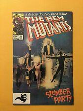 marvel New Mutants #21. 1st Magik. seinkiewicz. high grade unpressed raw VF/NM