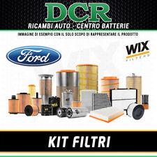 KIT FILTRI TAGLIANDO FORD C-MAX 1.8 TDCi 115CV 85KW DAL 02/2007 WIX