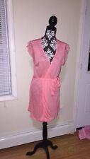 NWT Blush Soft Seduction modal robe, Color: Carnation, L/G, Org$ 68.00