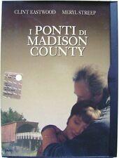 Dvd I Ponti di Madison County - ed. Snapper di Clint Eastwood 1995 Usato raro