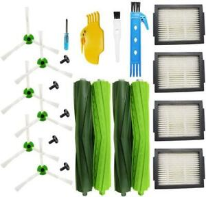 Extractors Hepa Filters Brushes Parts for iRobot Roomba E5 E6 E7 i7 i7+/i7 Plus