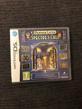 Professor Layton and the Spectre's Call (Nintendo DS, 2011)