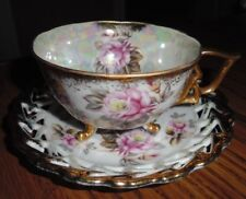 CASTLE CHINA TEA CUP AND SAUCER MADE IN JAPAN