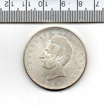 1944 ECUADOR CAPSULED SILVER COIN