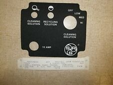 Control Panel Label 79410 Tennant Scrubber *FREE SHIPPING*