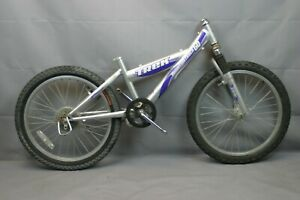 "2000 Trek Mountain Track 60 24"" Kids MTB Bike Suspension Fork Steel USA Charity!"