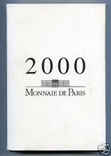 MONNAIE DE PARIS COFFRET BE BELLE EPREUVE 2000 VARIETE 1 CT BE / BU
