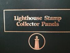 LIGHTHOUSE STAMP COLLECTOR PANELS BINDER -42 COUNT- POSTAL COMMEMORATIVE SOCIETY