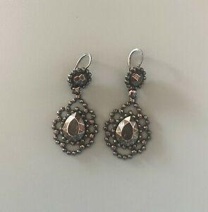 Luxuriöse Ohrringe von BOTTEGA VENETA - 925 sterling silver earrings ~ 650€