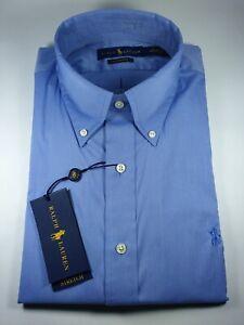 New Authentic Polo Ralph Lauren Men Classic Fit Performance Dress Shirt SALE