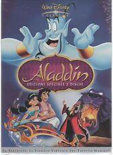 ALADDIN DISNEY EDIZIONE SPECIALE 2 DVD F.C.  Z3 DV 0193 SLIPCASE SIGILLATO!!!