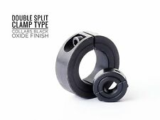 Clamp Collar Double Split  3mm To 130mm Shaft Collar Clamp Type Collars