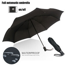 Automatic Open&Close Folding Compact Super Windproof Anti Rain Sun Umbrella