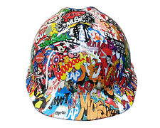 Sticker Bomb MSA V-GUARD Cap Hard Hat