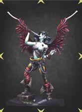 1/24 75mm Resin Figure Model Kit Sexy Girl Ancient Circus Morbid Angel Unpainted
